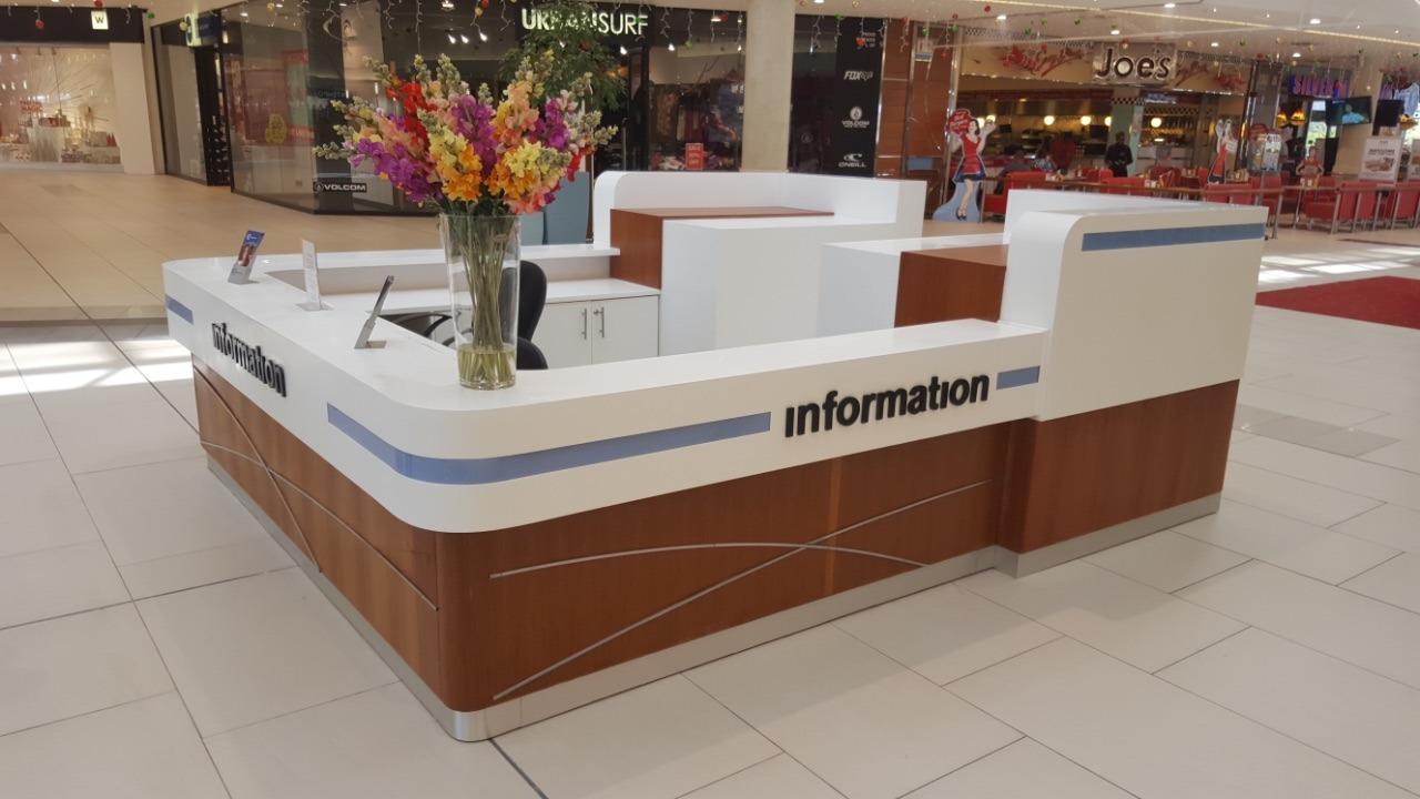 Information Desks   Infin8 Surfacing