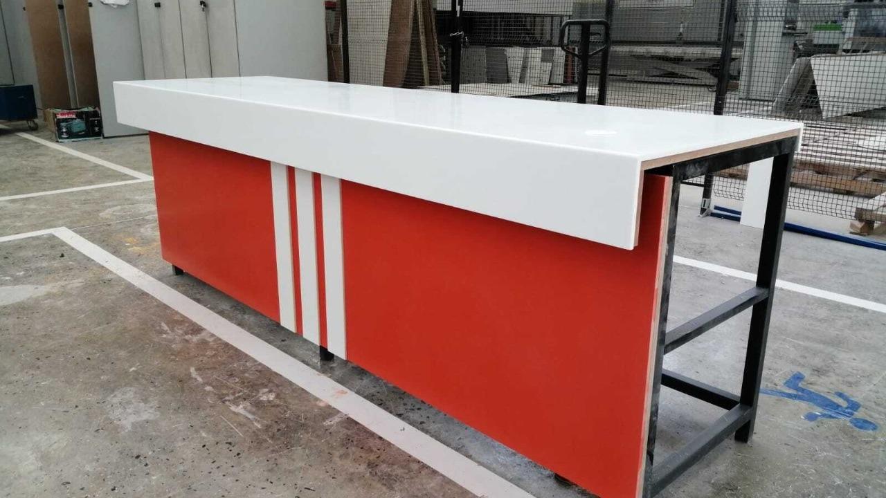 Reception Desks   Infin8 Surfacing